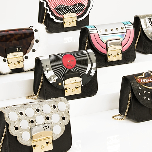 Furla Metropolis с аппликациями из 90th Anniversary collection
