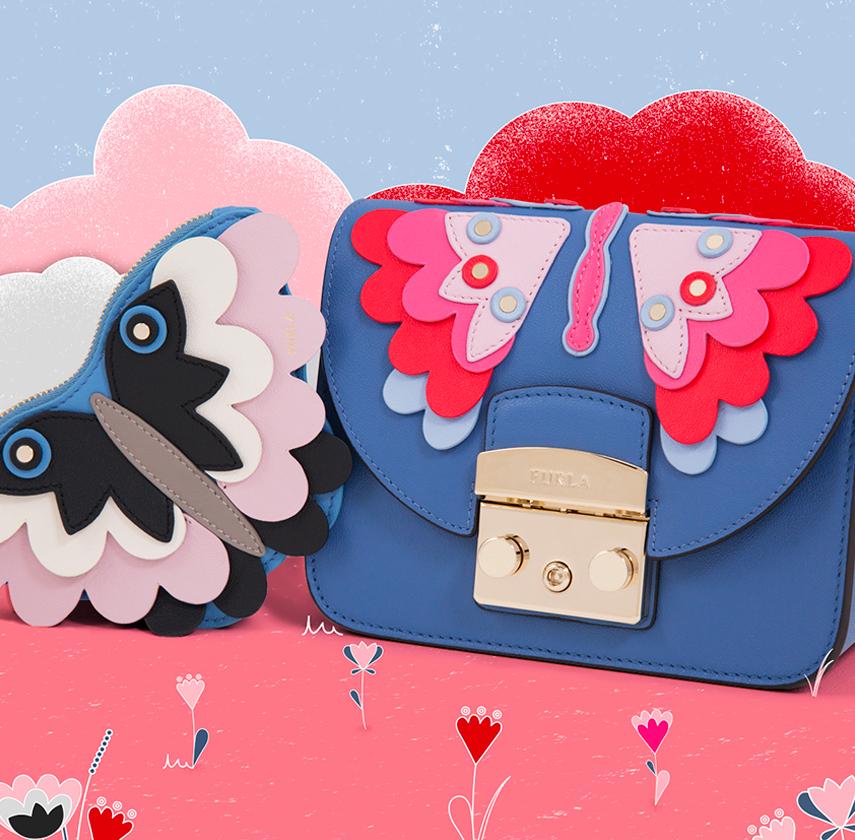 Furla Papillon – игривое очарование яркостью