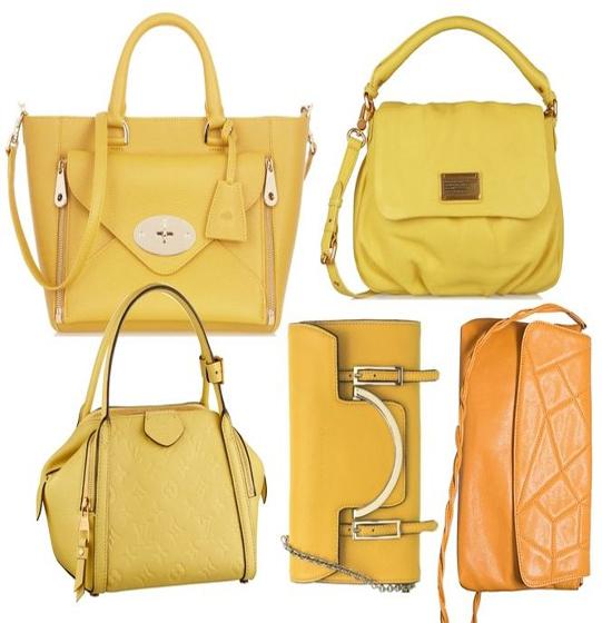 Актуальные цвета сумок 2014 года