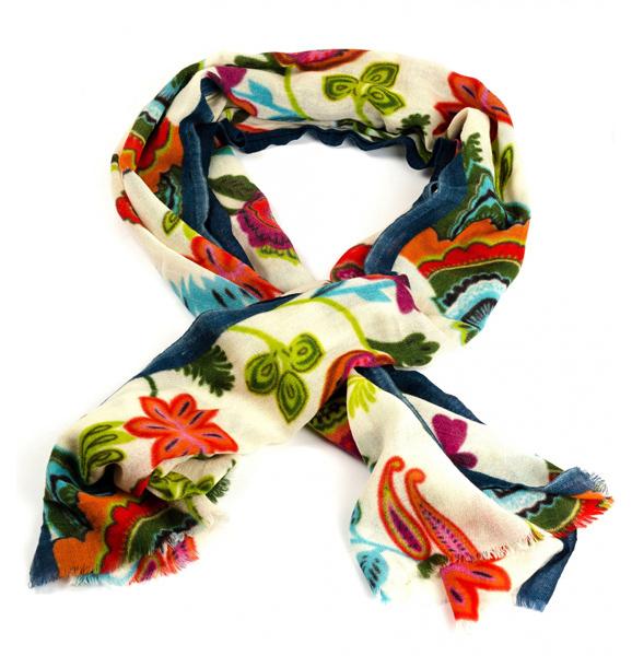 Как красиво завязать шарф, палантин, платок
