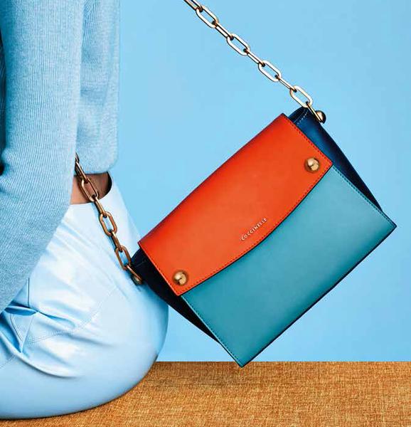 Коллекция сумок Coccinelle весна–лето 2015